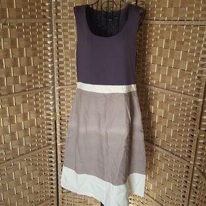 Cynthia Rowley rayon linen dress
